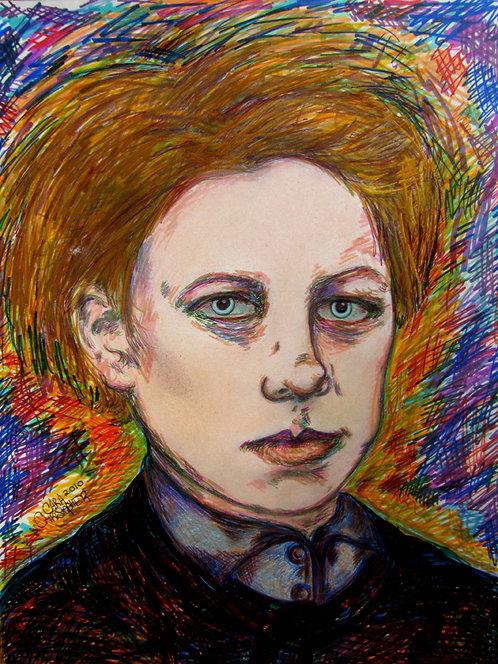 8x10 Print - Portrait of Arthur