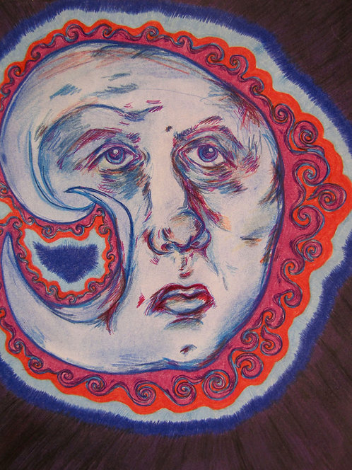 ORIGINAL - Old Man Moon Face