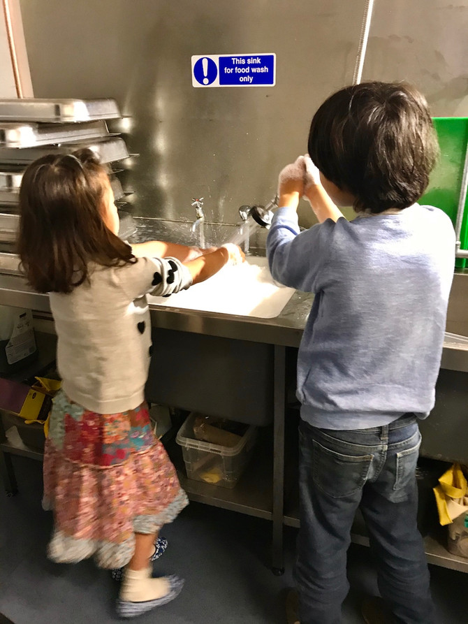 Kids, Cooking and COVID