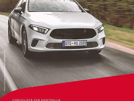 CHECKLISTE: HAUPTUNTERSUCHUNG FÜRS AUTO