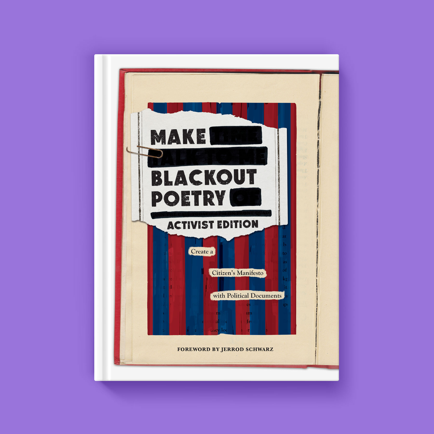 Make Blackout Poetry front cover