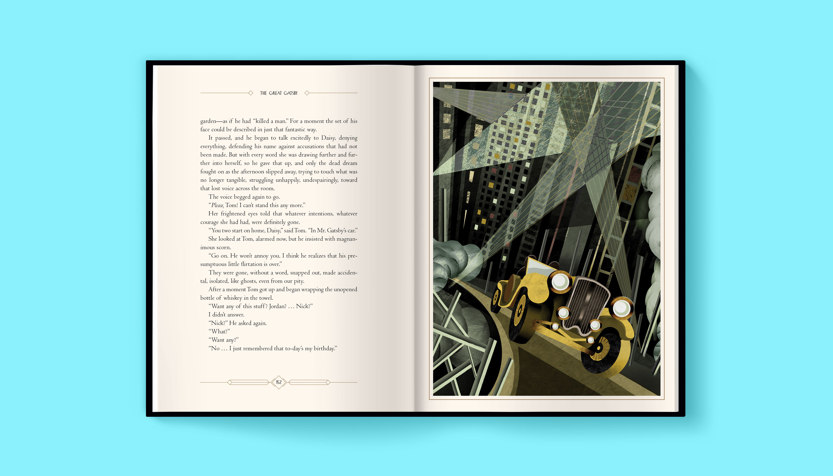 The Great Gatsby interior 6