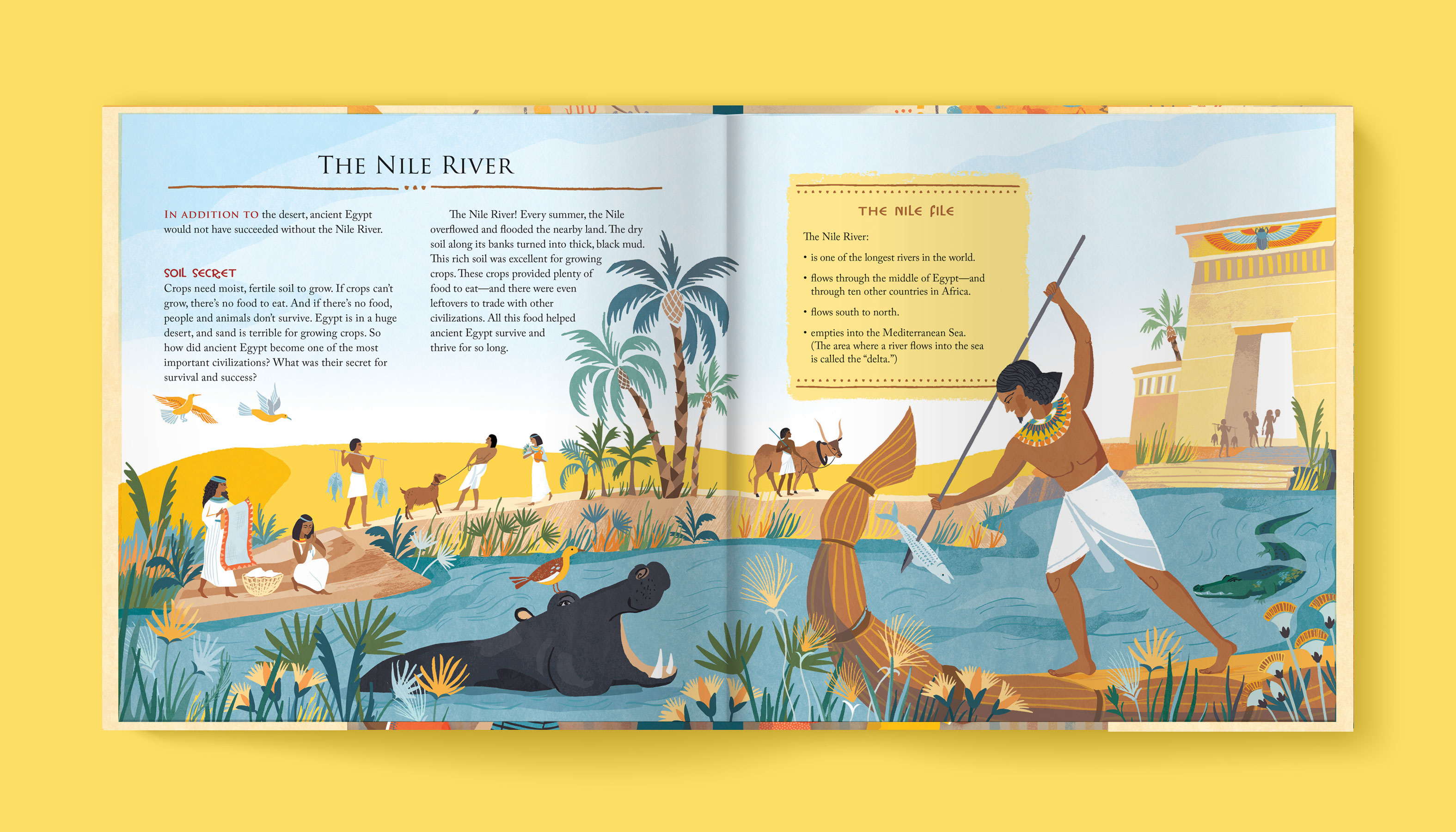 A Child's Introduction to Egyptology interior 1