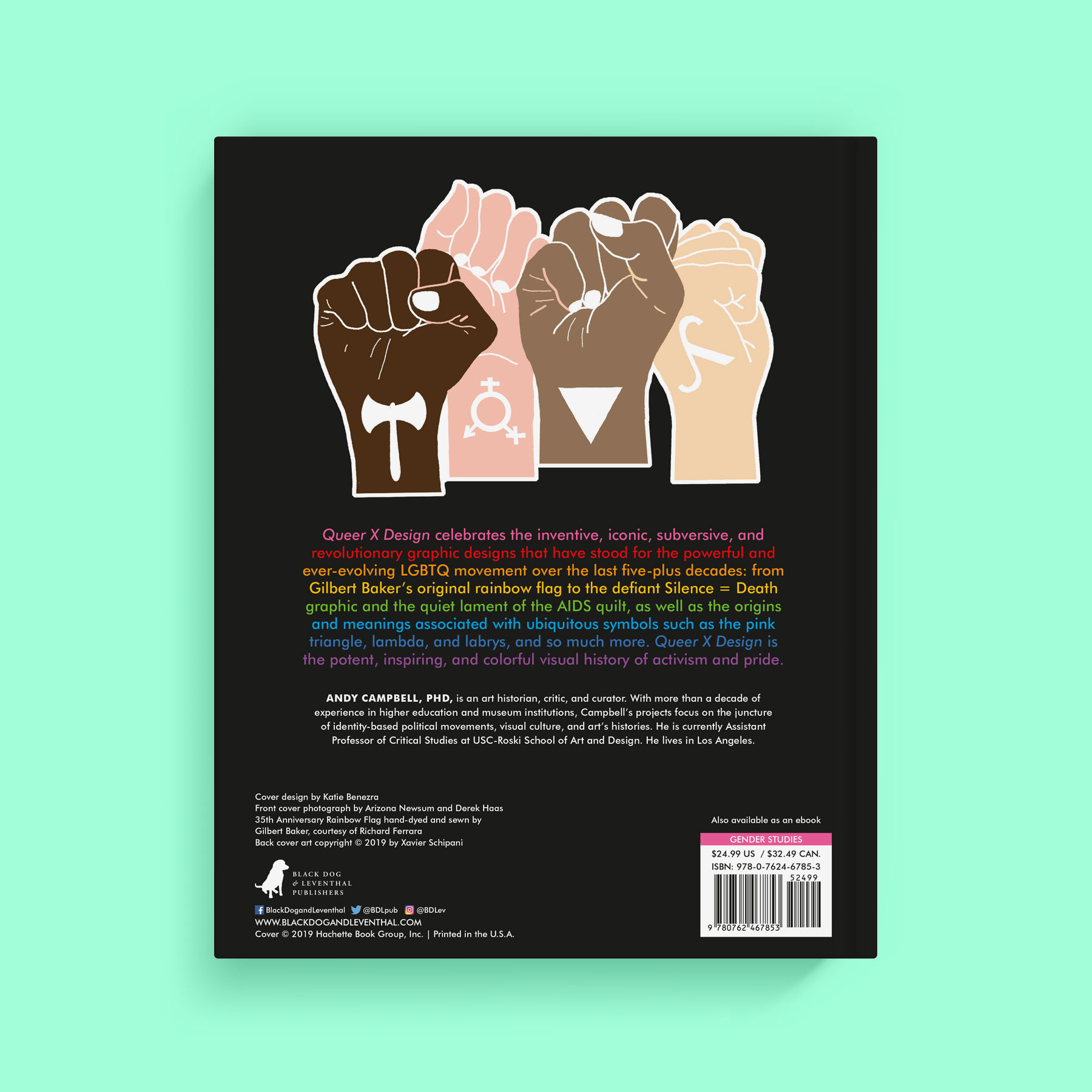 Queer X Design back cover