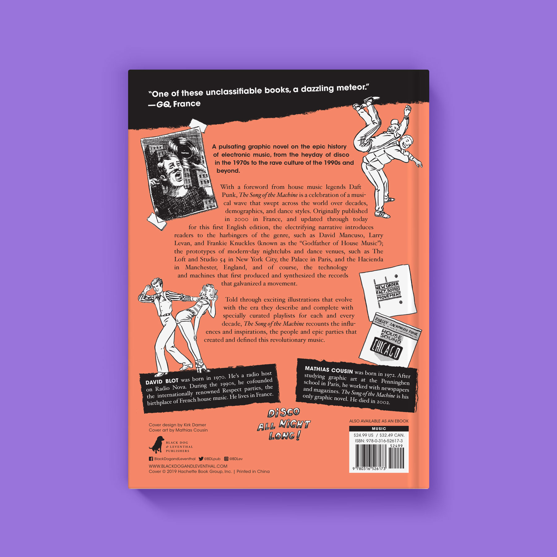The Song of the Machine back cover