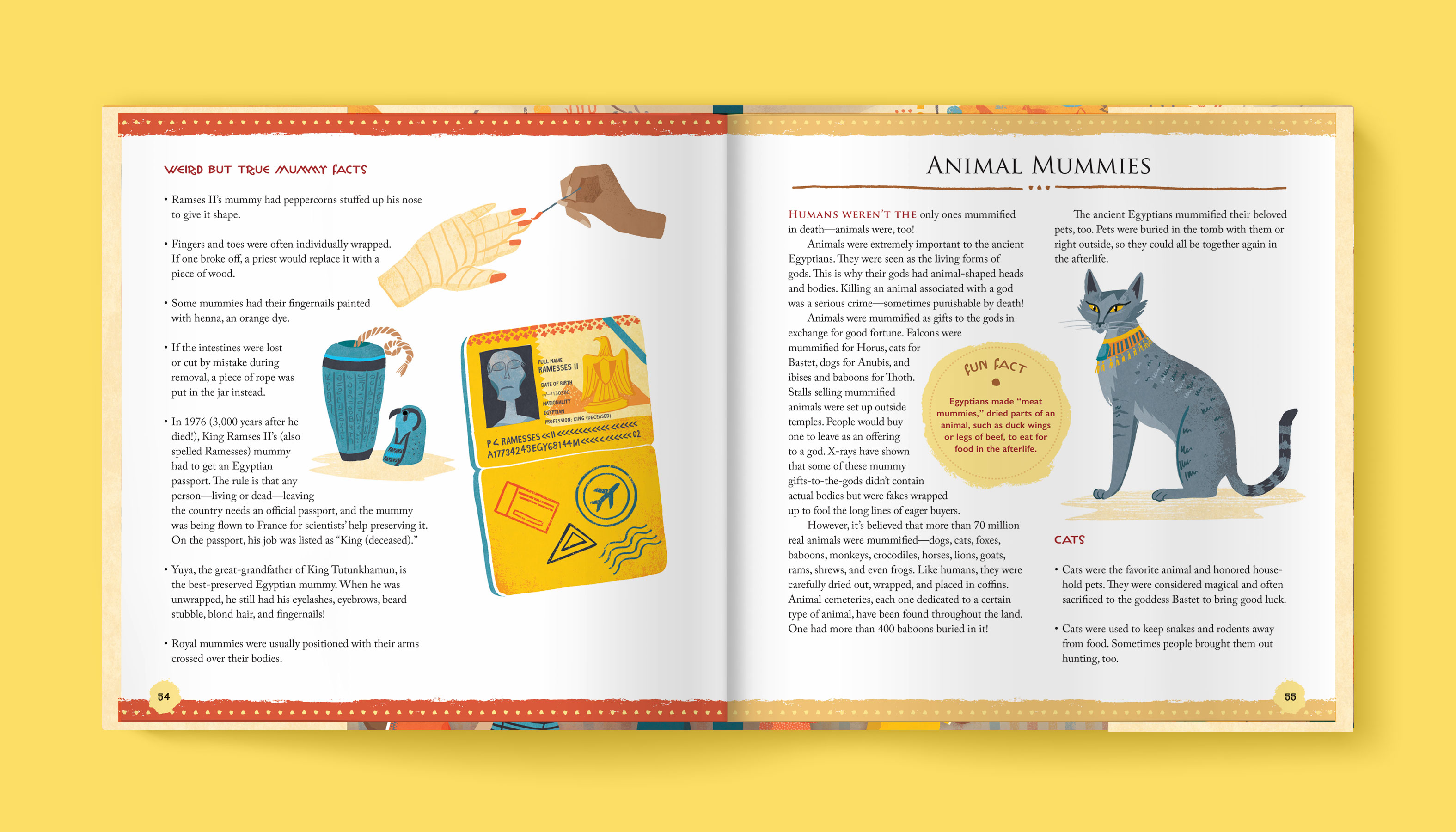 A Child's Introduction to Egyptology interior 5