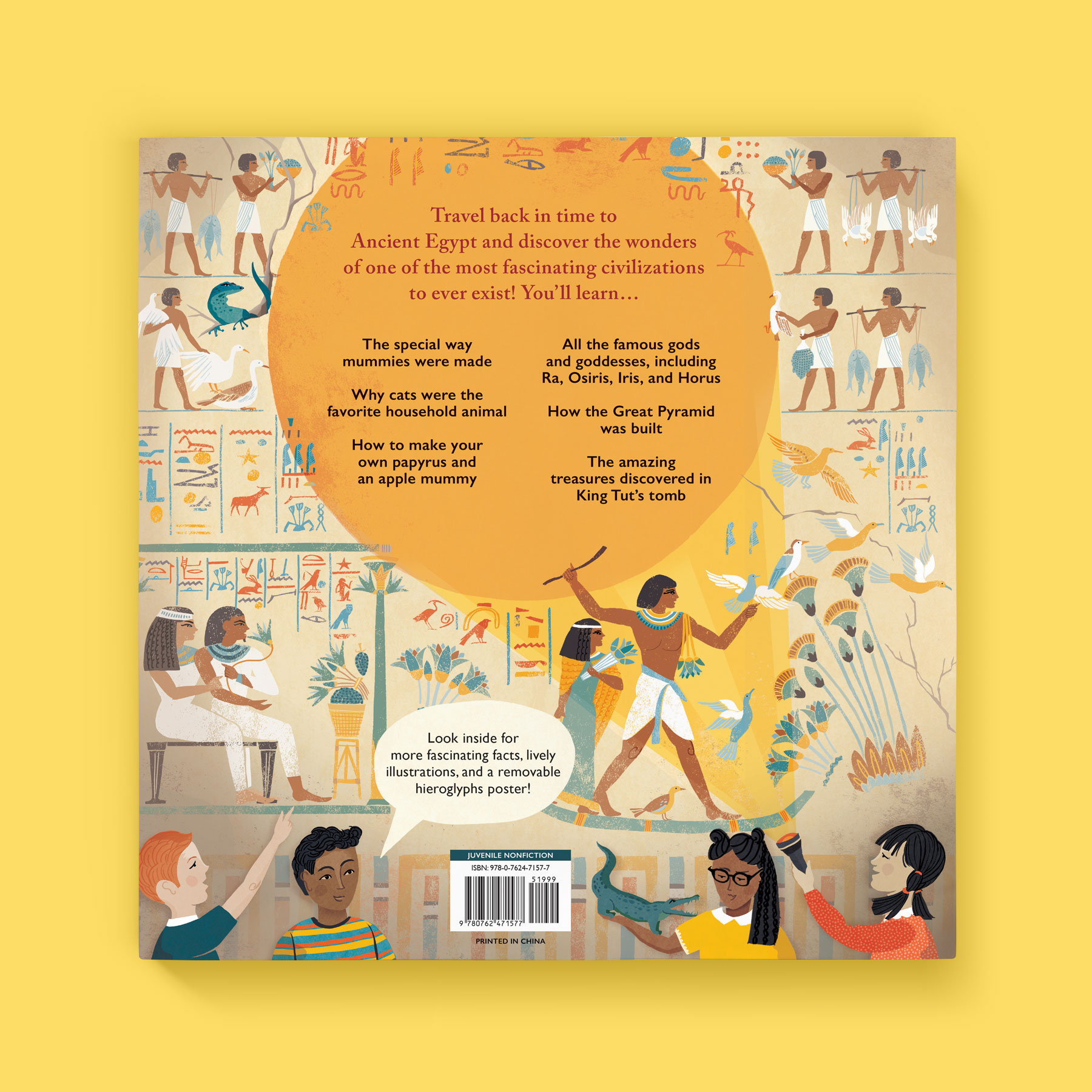 A Child's Introduction to Egyptology back cover