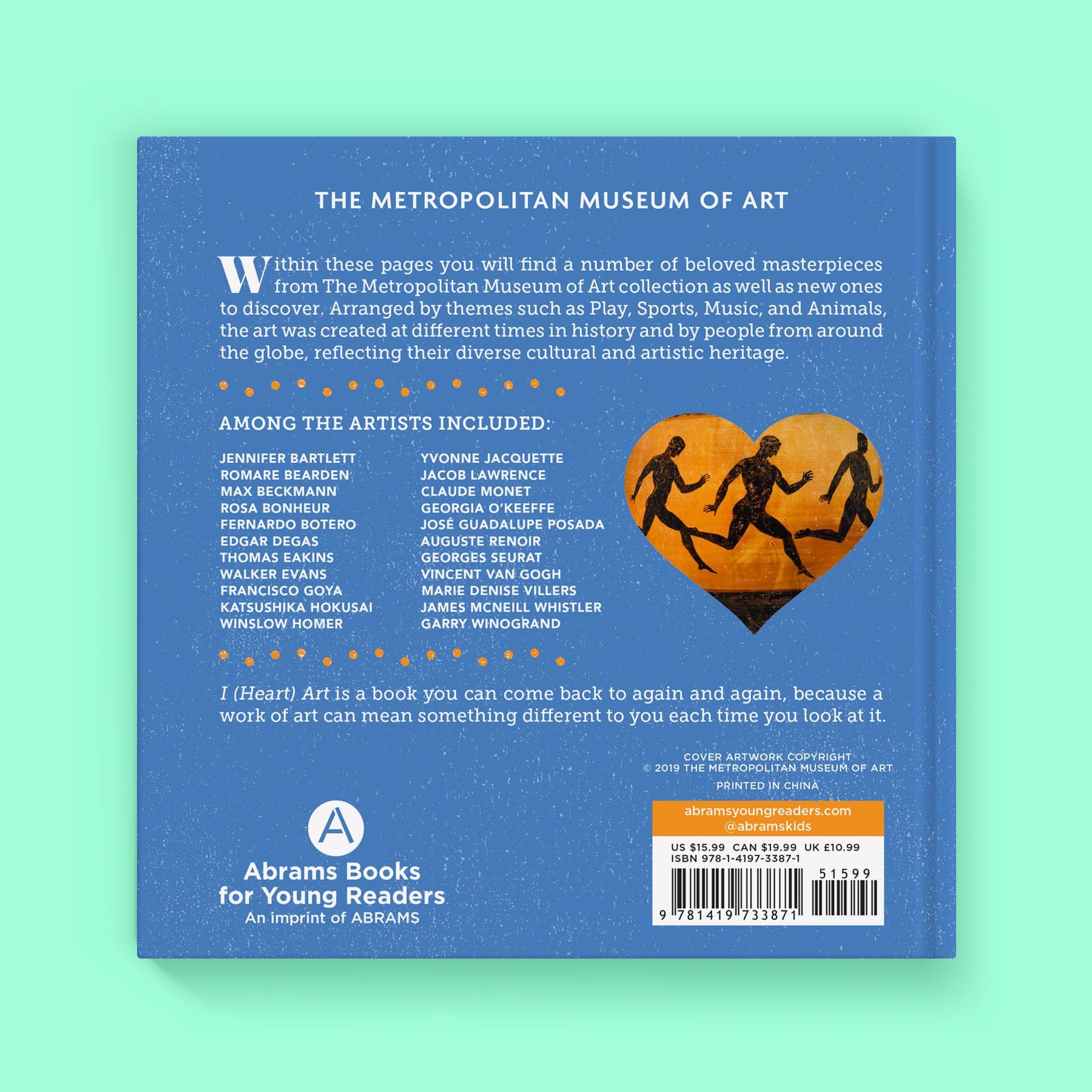 I (Heart) Art back cover