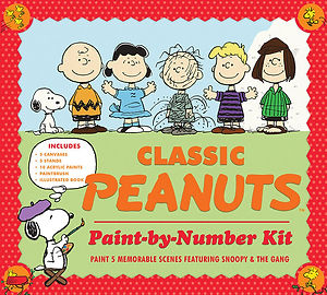 Classic Peanuts Paint-by-Number Kit