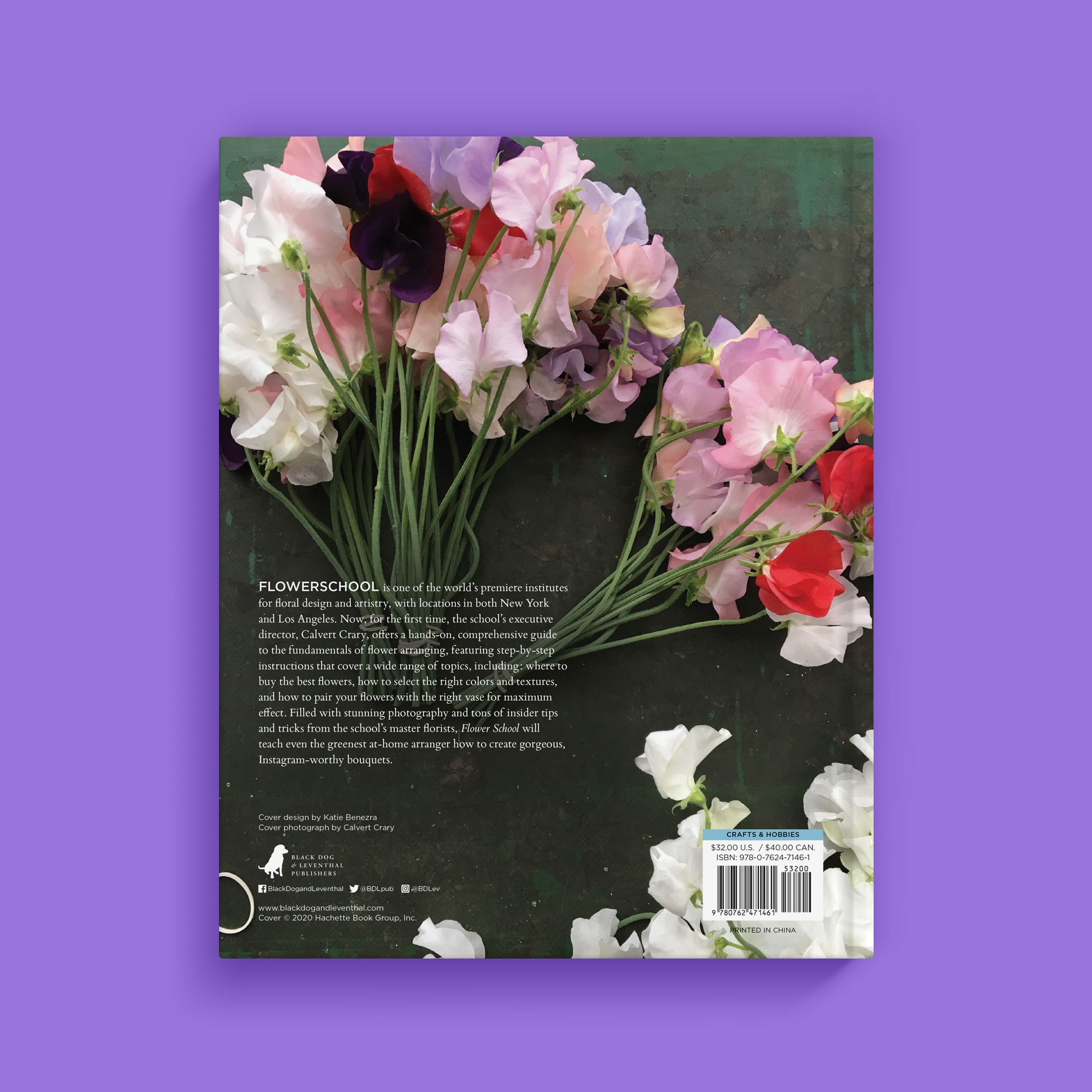 Flower School back cover
