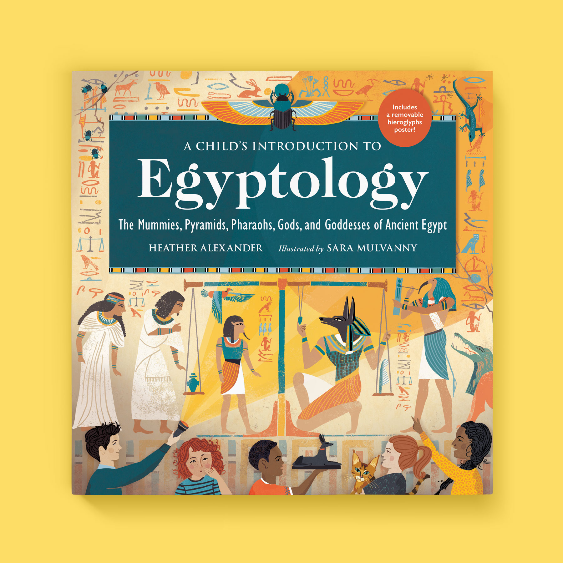A Child's Introduction to Egyptology front cover