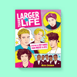 Larger Than Life front cover