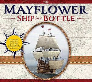 Mayflower Ship in a Bottle
