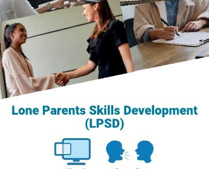Lone Parents Skills Development - starting Monday 5th July 2021
