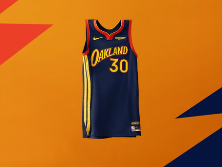 Warriors Unveil New City Edition Jerseys; Oakland Forever, Presented by Rakuten