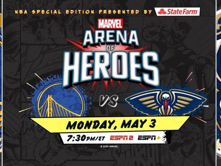 ESPN & Marvel to Offer First NBA Special Edition Presented by State Farm: Marvel's Arena of Heroes A