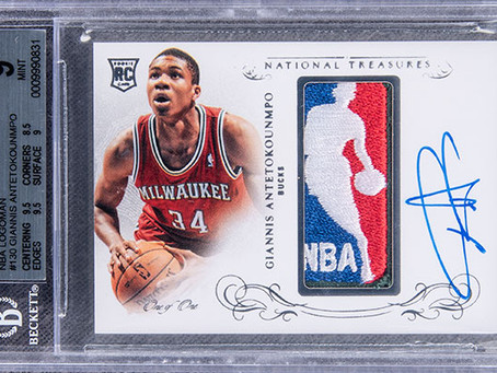 Giannis rookie card sells for record $1.812M