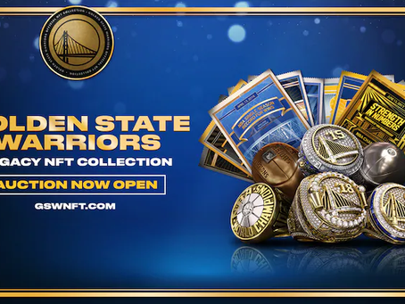 Golden State Warriors Launch NFT Collection, Becoming First U.S. Sports Team To Release Own NFTs