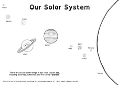 solar sysrem poster landscape BnW.png