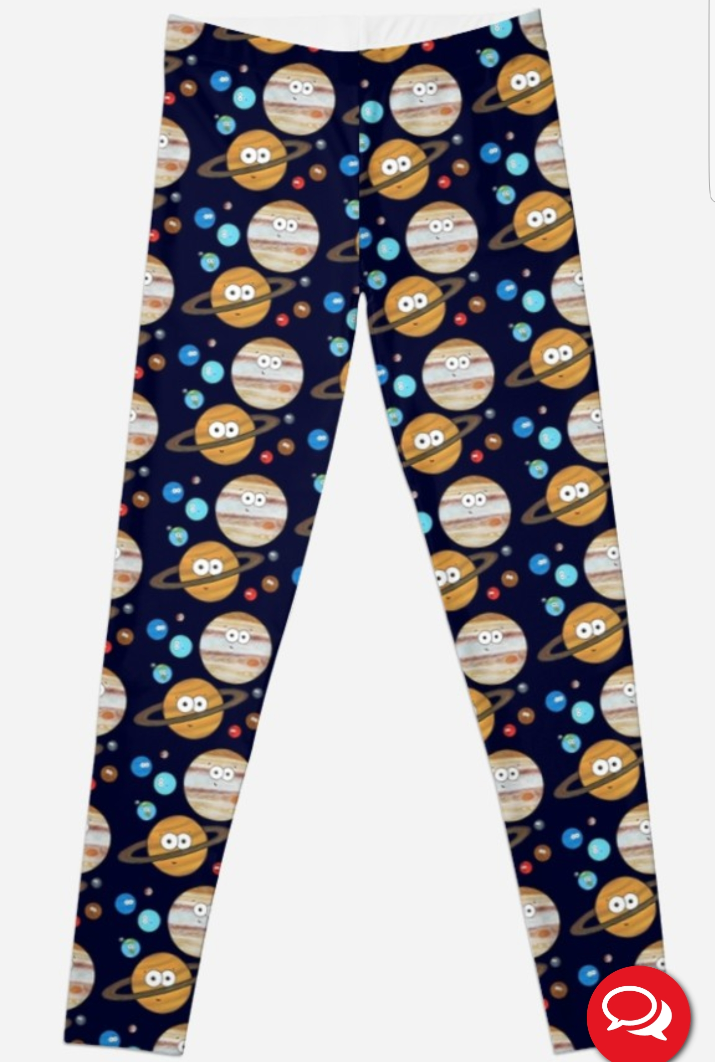 Solar System leggings Adrienne Body