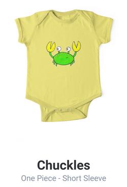 Cute Crab Baby Adrienne Body