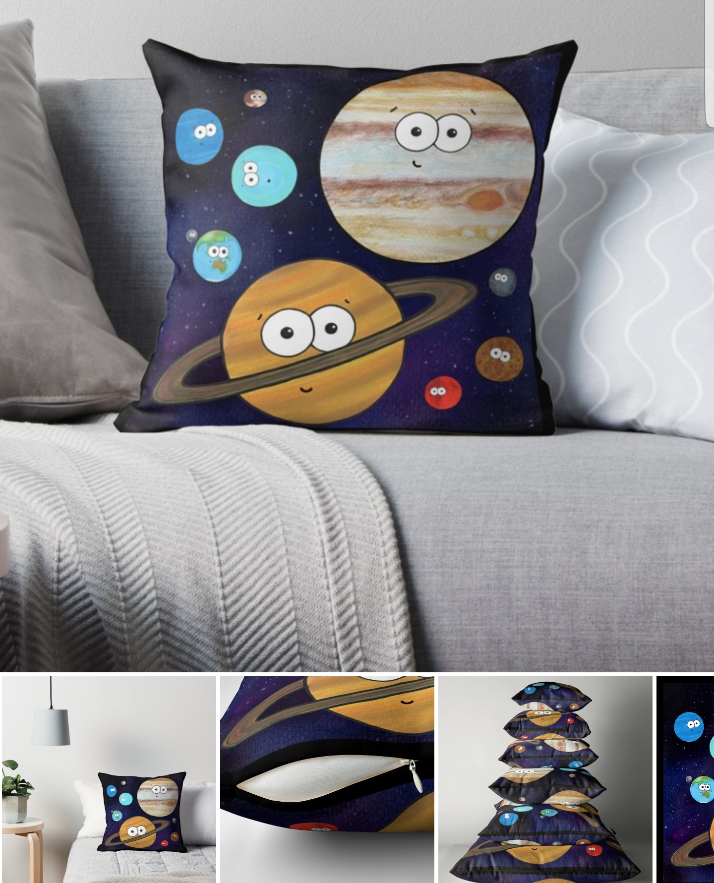 Solar System Cushion Adrienne Body