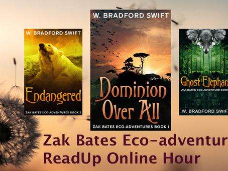 Zak Bates Eco-Adventure Summer Readup event.