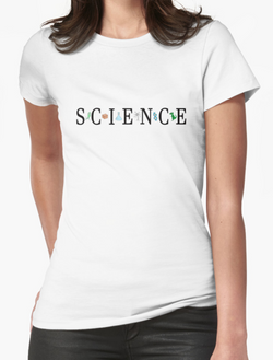 Science tee by Adrienne Body