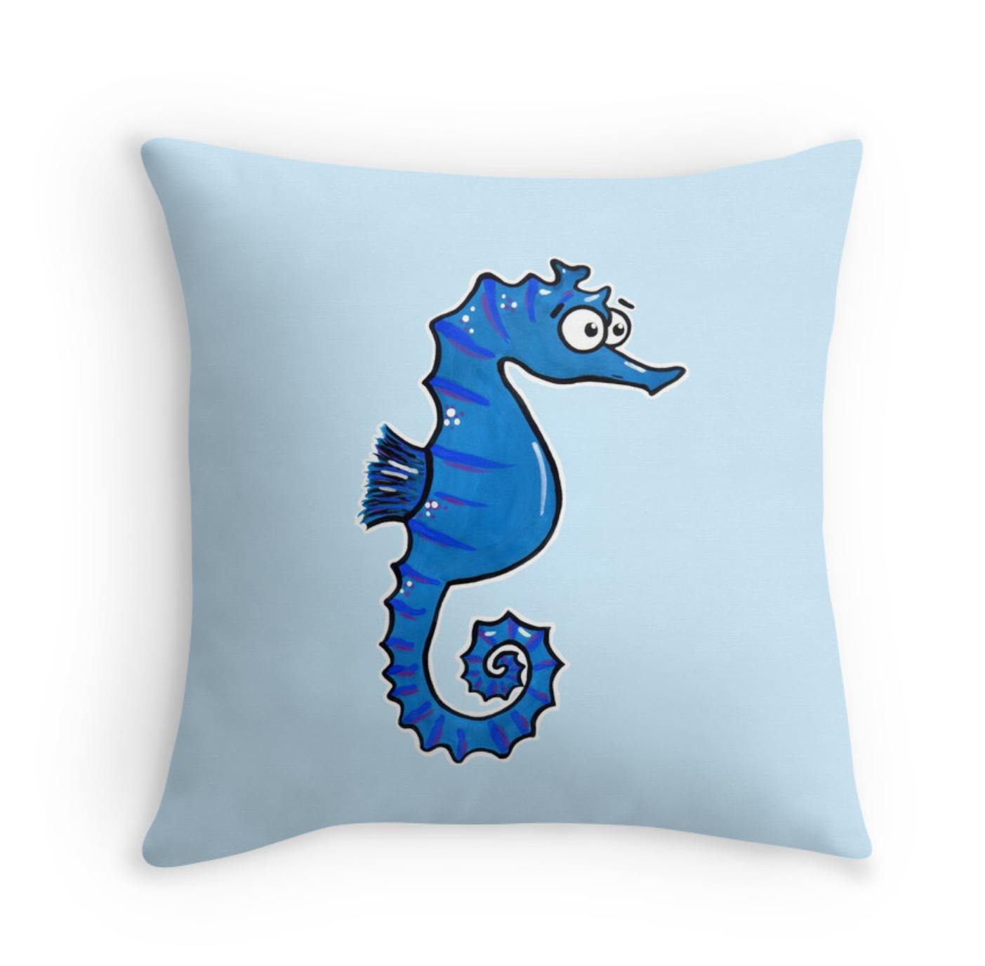cute seahorse cushion Adrienne Body