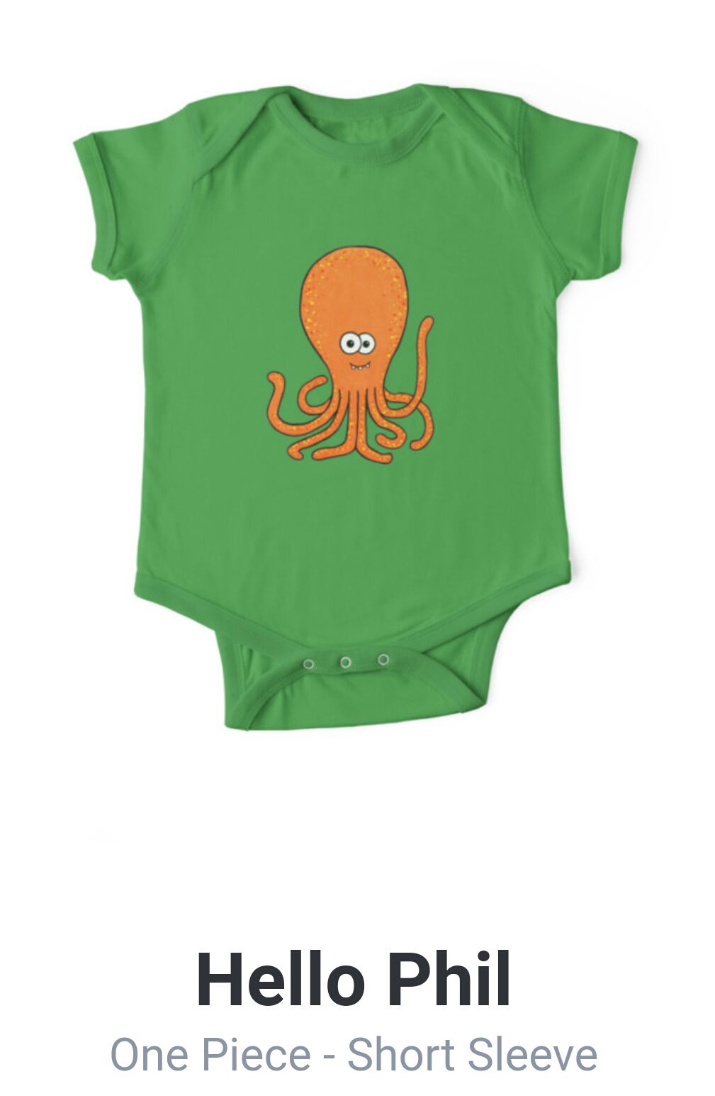 Phil the Kraken Adrienne Body