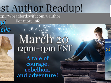 Next Guest Author Readup - Guinevere - At the Dawn of Legend by Cheryl Carpinello