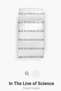 Science Duvet Cover