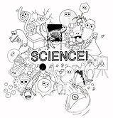 colouring page - all of the science jpg