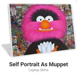 Muppets laptop cover