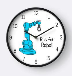 robot clock - Adrienne Body