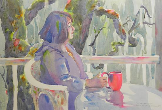 Tea on a Rainy Day