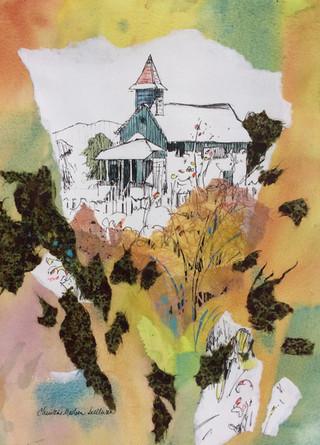 The Old San Simeon Schoolhouse