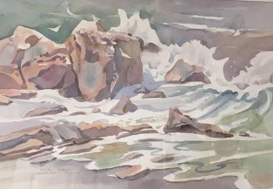 Surf at Little Corona
