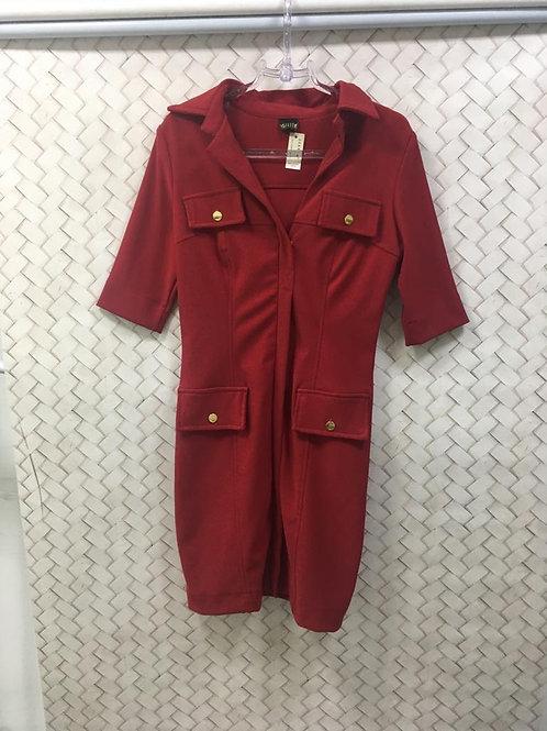 Vestido Red Canelado Malha AGILITÁ