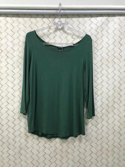 Blusa Verde LE LIS BLANC