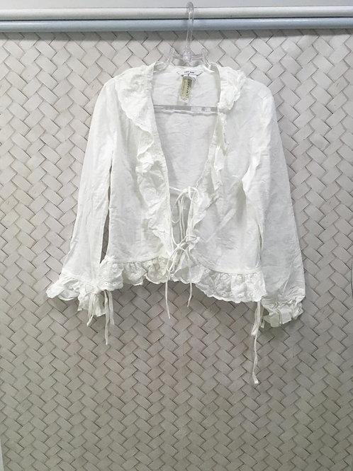 Camisa Linho Branca ZARA