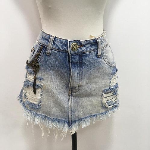 Saia Mini Jeans LANÇA PERFUME