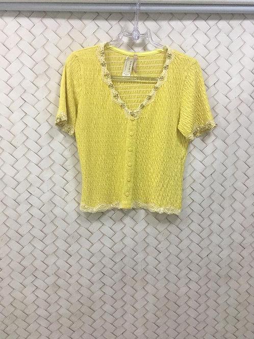 Blusa Amarela Ouro Prata