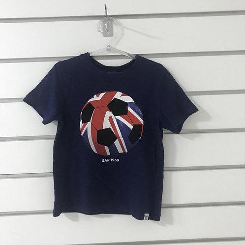 T-shirt Malha Azul GAP KIDS