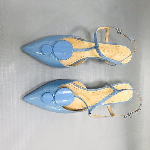 Sapato Azul Verniz VICENZA