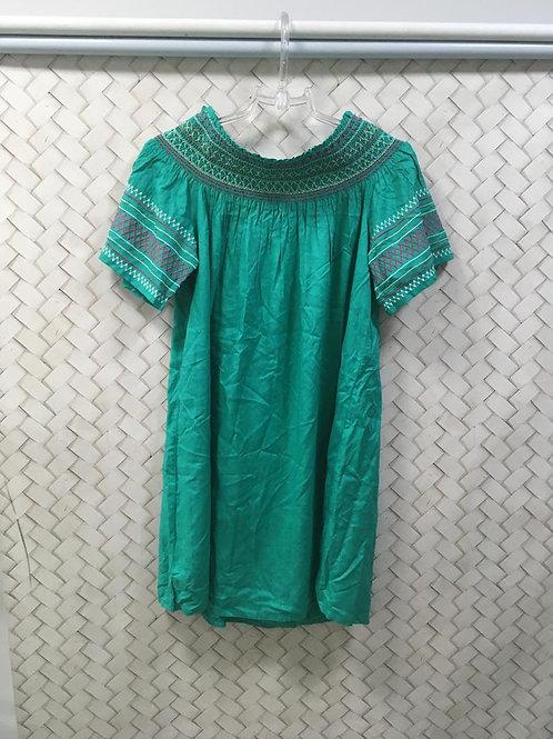 Vestido Verde Ombro a Ombro YSC