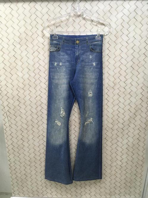 Calça Malhção Jeans LIVE
