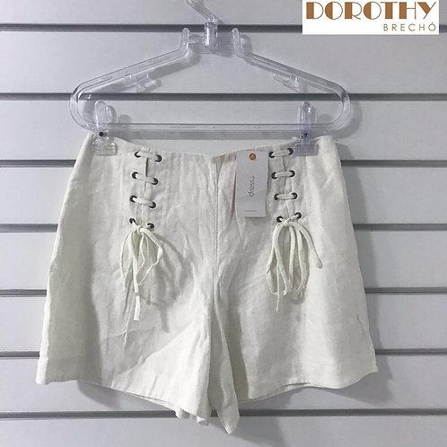 Short Branco DRESS TO