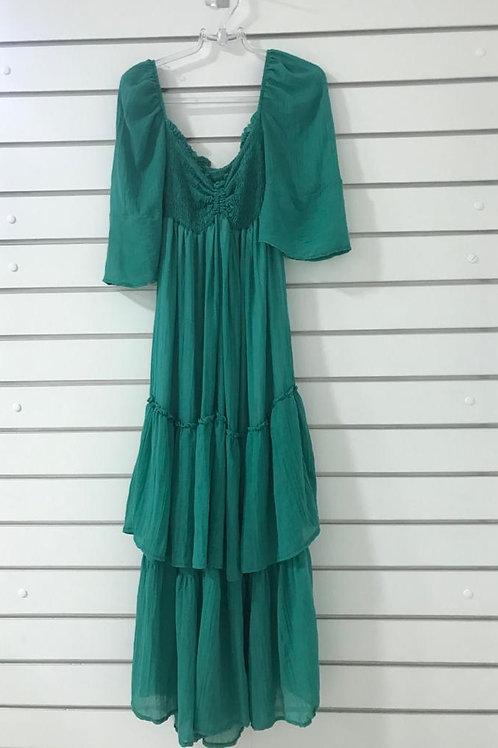 Vestido Verde THEREZA PRIORE