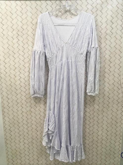 Vestido Branco Longo THEREZA PRIORE